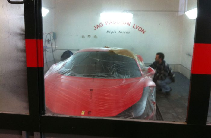 C2 – Ferrari 458 Italia – Préparation peinture