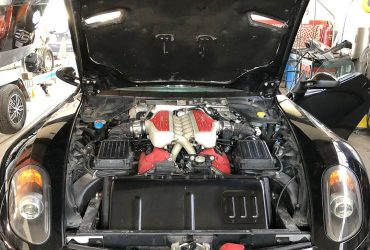 M5 – Ferrari 599 GTB – Phase de démontage