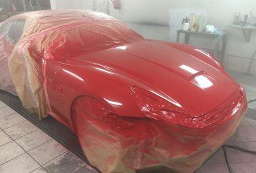 C6 – Ferrari California – Peinture bloc avant