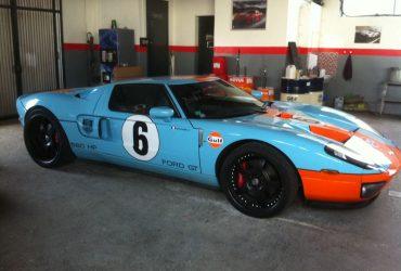 R1 – Ford GT – Peinture aux couleurs GULF
