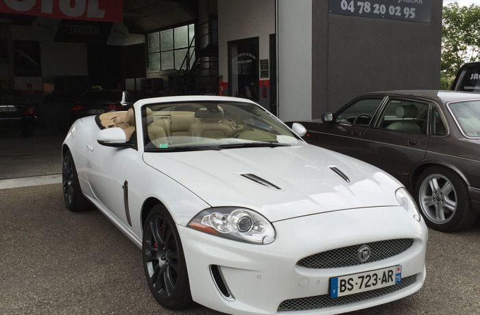 R4 – Jaguar XKR – Travaux de carrosserie